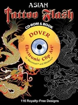 Asian Tattoo Flash - Dover Electronic Clip Art