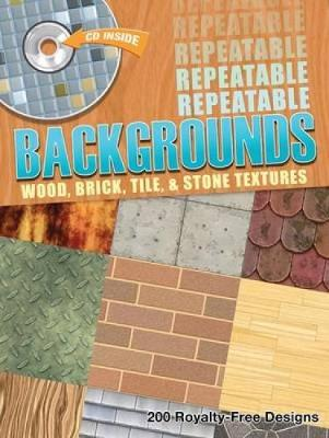 Repeatable Backgrounds: Wood, Brick, Tile and Stone Textures - Dover Electronic Clip Art