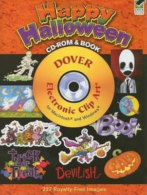 Happy Halloween - Dover Electronic Clip Art