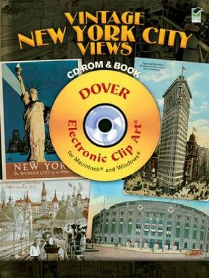 Vintage New York City Views - Dover Electronic Clip Art