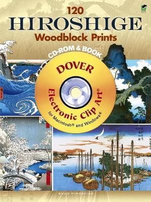 120 Hiroshige Woodblock Prints - Dover Electronic Clip Art