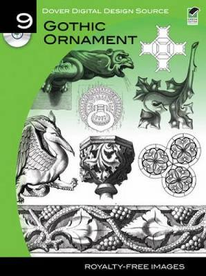 Gothic Ornament - Dover Electronic Clip Art No. 9
