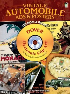 Vintage Automobile Ads & Posters - Dover Electronic Clip Art