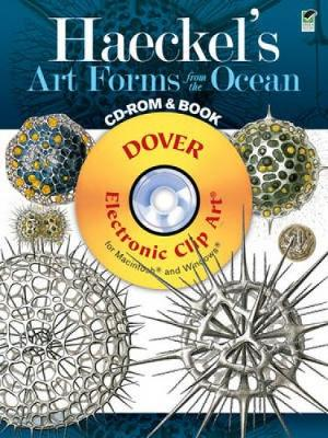 Haeckel's Art Forms from the Ocean - Dover Electronic Clip Art