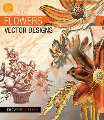 Flowers Vector Designs - Dover Pictura Electronic Clip Art
