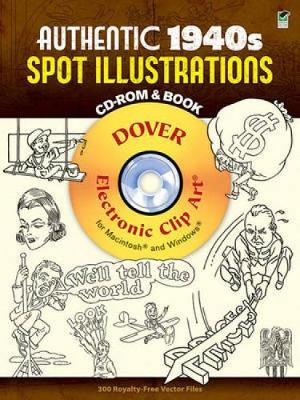 Authentic 1940s Spot Illustrations - Dover Electronic Clip Art