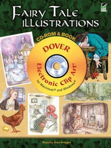 Fairy Tale Illustrations - Dover Electronic Clip Art (Paperback)