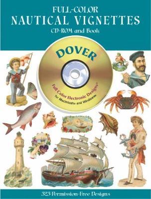 Full-Color Nautical Vignettes (Paperback)
