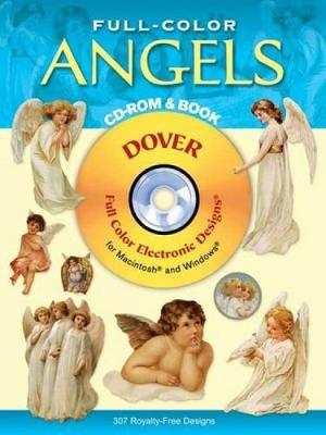 Full-Color Angels - Dover Electronic Clip Art