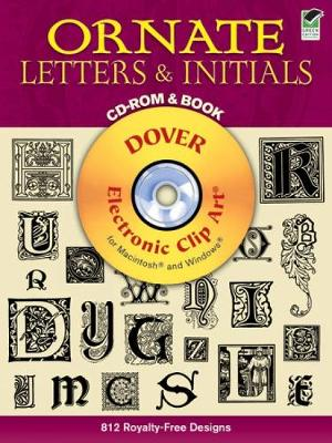 Ornate Letters - Dover Electronic Clip Art