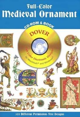 Full Colour Medieval Ornaments - Dover Electronic Clip Art