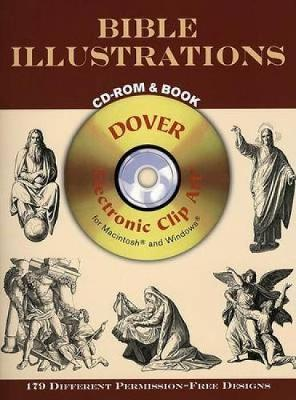 Bible Illustrations CD-Rom and Book - Dover Electronic Clip Art (CD-ROM)