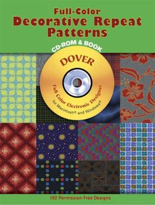 Full-Color Decorative Repeat Patter (CD-ROM)