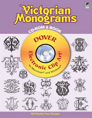 Victorian Monograms CD-Rom and Book (Paperback)