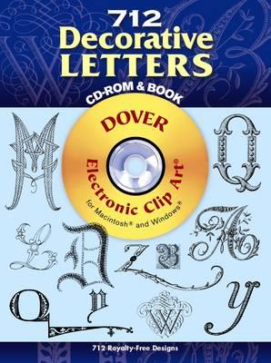 712 Decorative Letters (Paperback)