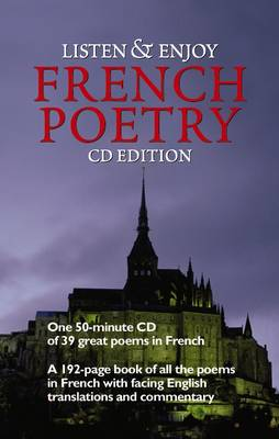 Listen & Enjoy French Poetry (CD-Audio)