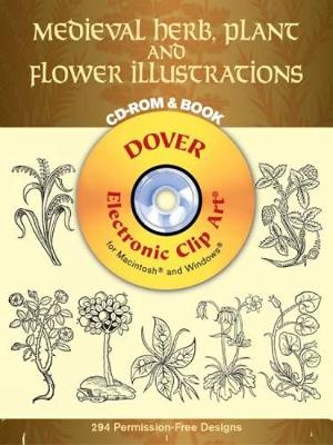 Medieval Herb Plant Flower - Dover Electronic Clip Art (CD-ROM)