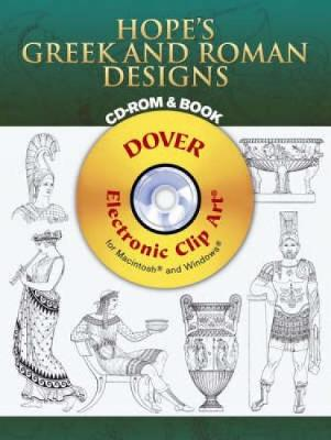 Hope's Greek and Roman Designs - Dover Electronic Clip Art (CD-ROM)