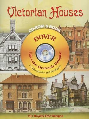 Victorian Houses - Dover Electronic Clip Art
