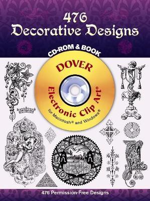 450 Decorative Designs - Dover Electronic Clip Art