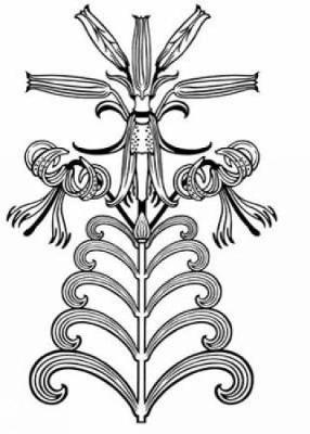 Art Nouveau Floral Designs - Dover Electronic Clip Art