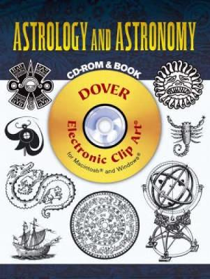 Astrology and Astronomy - Dover Electronic Clip Art