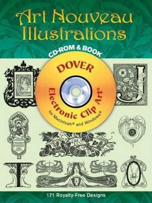 Art Nouveau Illustrations - Dover Electronic Clip Art