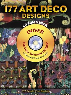 180 Art Deco Designs - Dover Electronic Clip Art