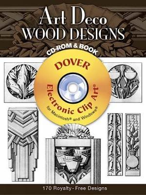 Art Deco Wood Designs - Dover Electronic Clip Art