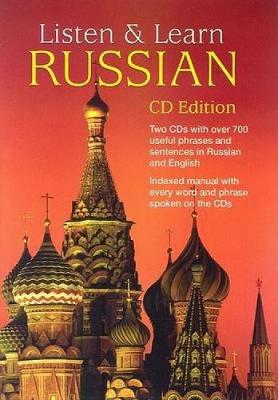 Listen & Learn Russian - Dover Language Guides Listen and Learn (CD-Audio)