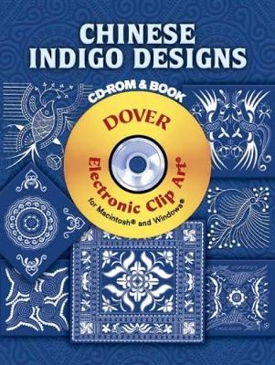 Chinese Indigo Designs - Dover Electronic Clip Art (Paperback)