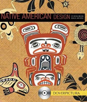 Native American Design - Dover Pictura Electronic Clip Art (Paperback)