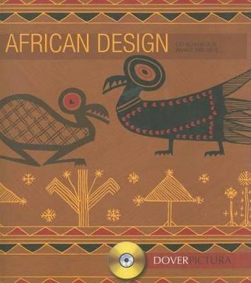 African Design - Dover Pictura Electronic Clip Art (Paperback)