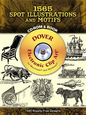 1500 Spot Illustrations and Motifs - Dover Electronic Clip Art