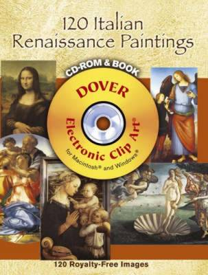 120 Italian Renaissance Paintings - Dover Electronic Clip Art