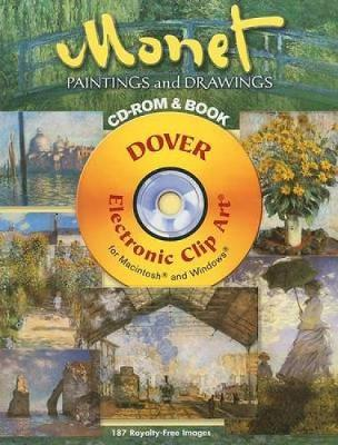Monet Paintings and Drawings - Dover Electronic Clip Art