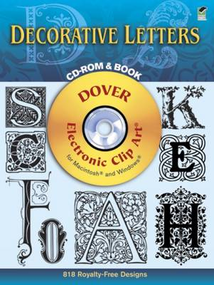 Dover Decorative Letters - Dover Electronic Clip Art (CD-ROM)