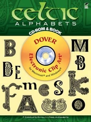 Celtic Alphabets - Dover Electronic Clip Art