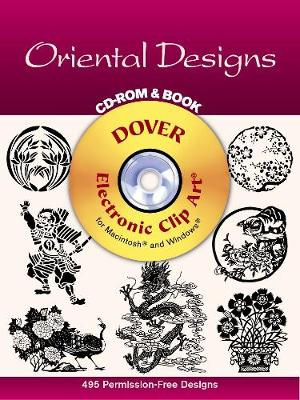 Oriental Designs - CD-Rom and Book - Dover Electronic Clip Art