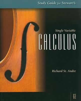 SG Single Variable Calc 6e (Book)