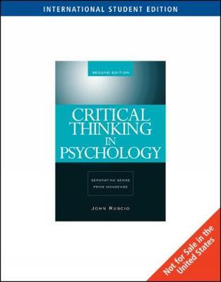 Sense and nonsense in psychology..