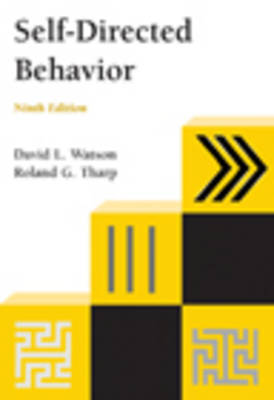 Self-Directed Behavior: Self-Modification for Personal Adjustment (Paperback)