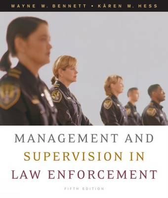 Management and Supervision in Law Enforcement (Hardback)