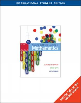 Guiding Children's Learning of Mathematics (Paperback)