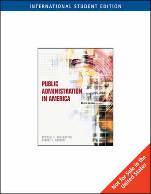 Public Administration in America (Paperback)