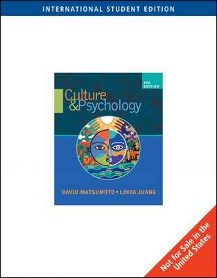 Culture and Psychology (Paperback)