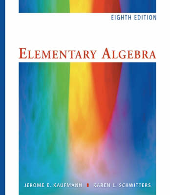 Elementary Algebra: WITH CD-Rom AND 1pass for Ilrno Student Tutorial