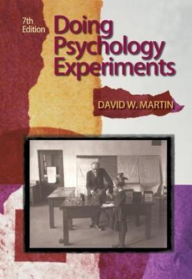 Doing Psychology Experiments (Paperback)