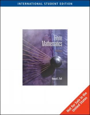 Finite Mathematics (Paperback)