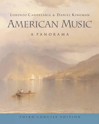 American Music: A Panorama (Paperback)